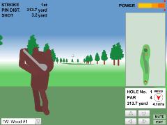 Bear Golf Tour(Flash 3D Golf Online Game)